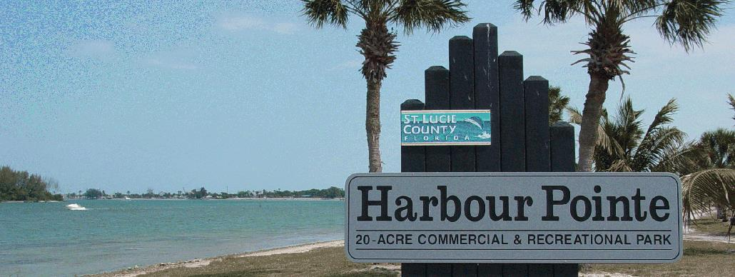 Harbour Pointe sign