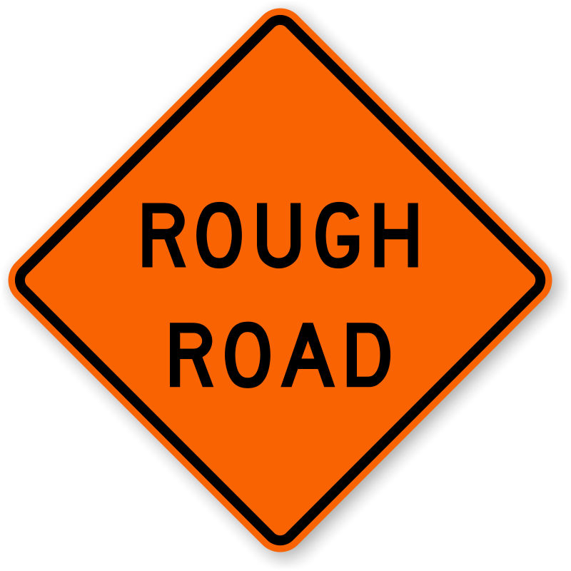 rough-road-sign-x-w8-8