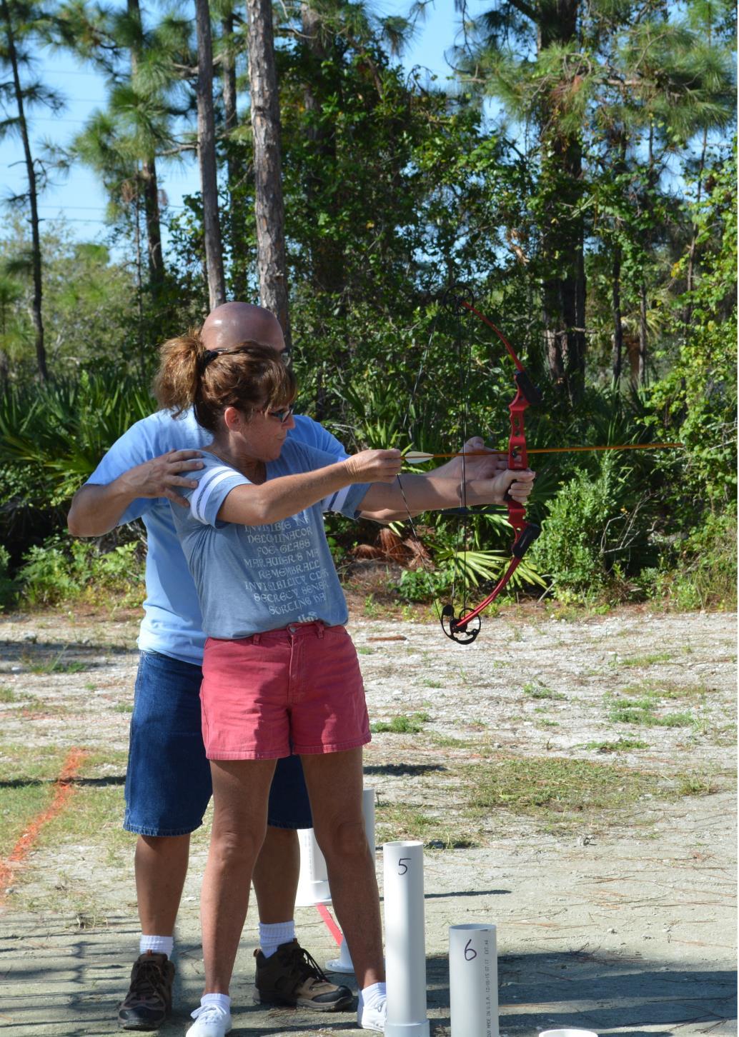 Archery Camp Photo