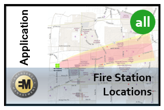 Fire Station Locations App