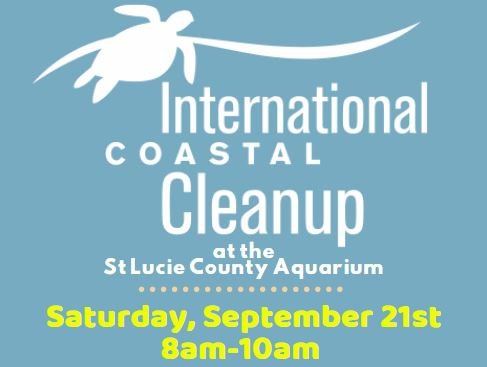 Coastal Cleanup Set. Sept. 21 from 8  to 10 am