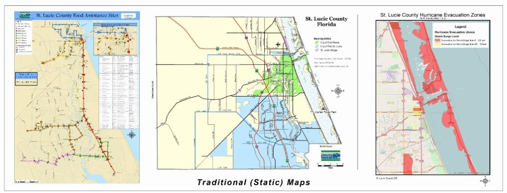 Show A Map Of Florida.Geographic Information System Gis And Mapping St Lucie County Fl