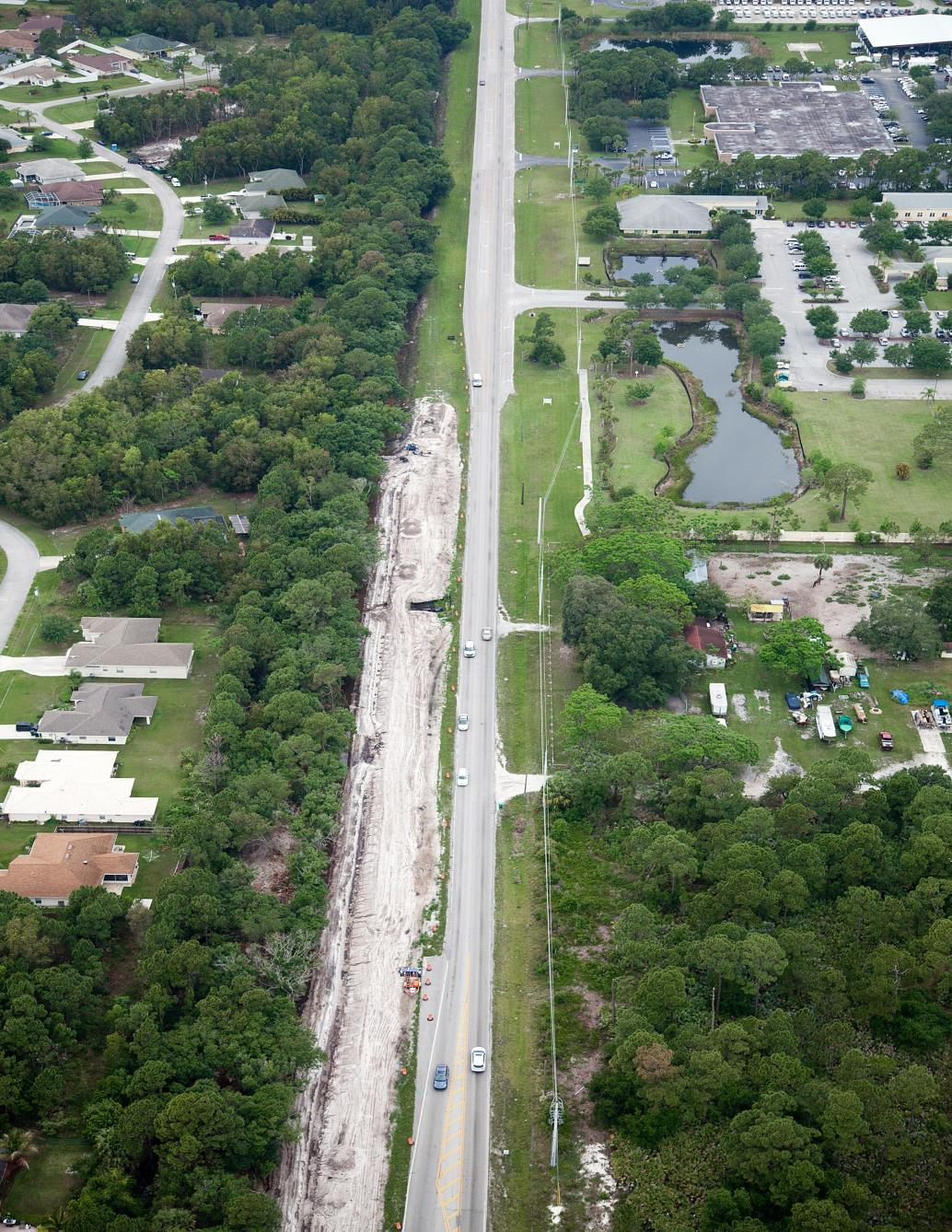 Aerials_010__4-27-15__Midway Rd. looking West from 1272 00 to Beyond Begin Construction _Rd_looking_west_from_1272_00_to_beyond_Begin_Construction