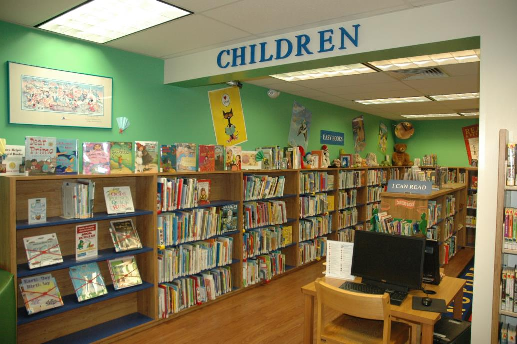 PSL Library childrens room