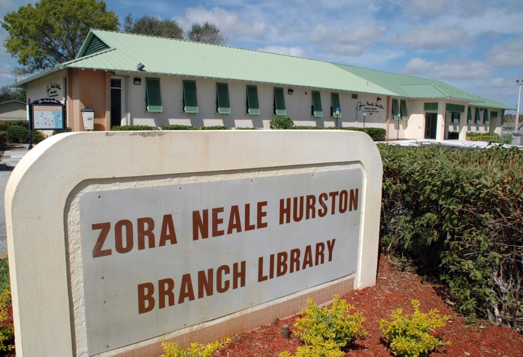 ZNH Library sign