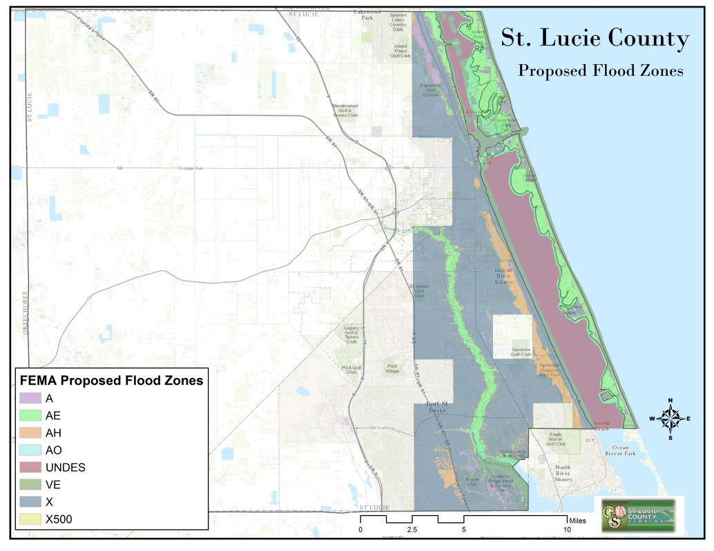 Flood Zones Proposed