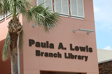 Lewis Library building