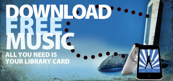 download free music. All you need is your library card. Links to freegal.
