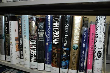 Library book spine