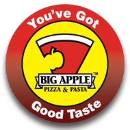Big Apple Pizza Logo