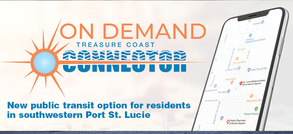 PSL on demand - new public transit option for residents of southeastern Port St. Lucie