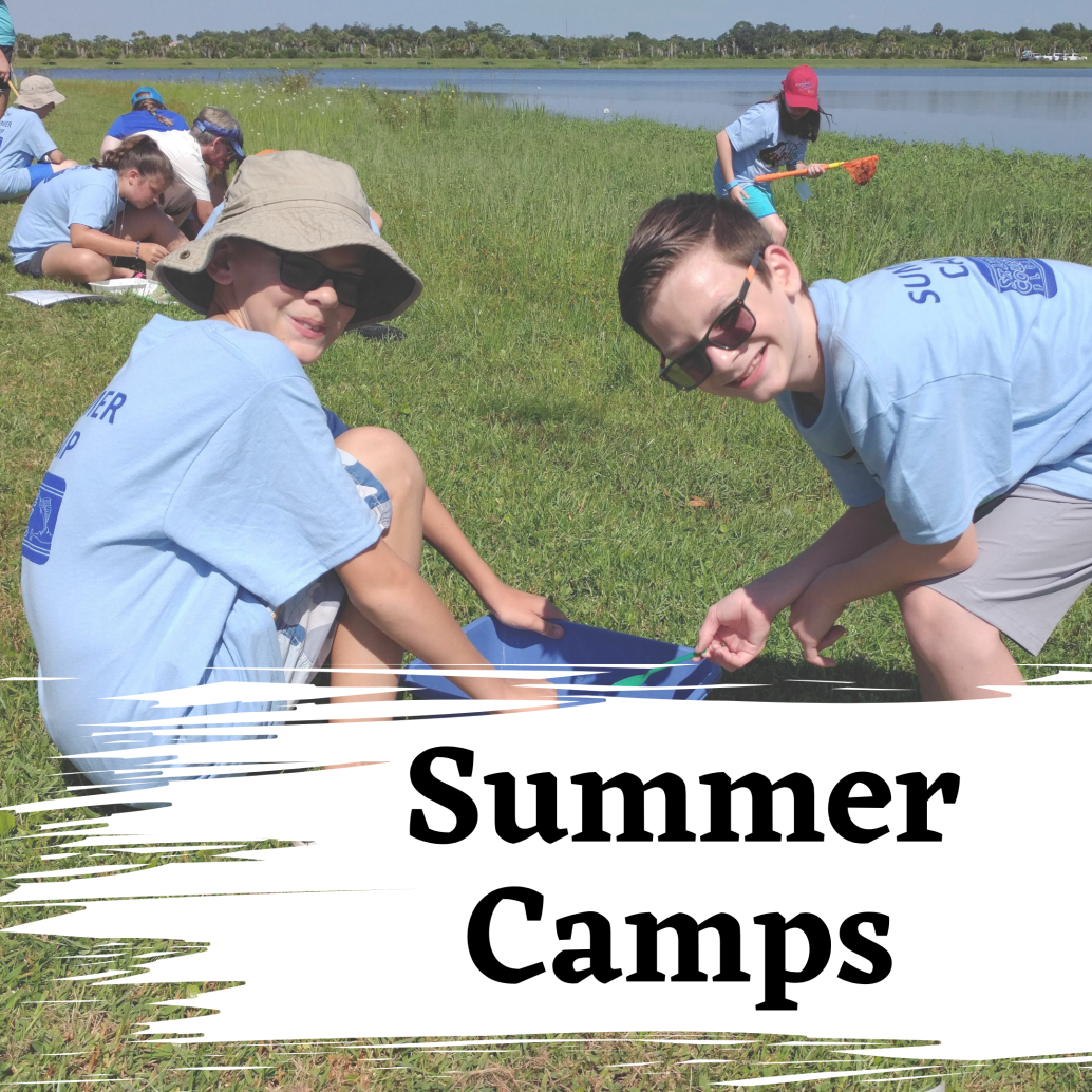 Photo of Summer Campers, Text: Summer camps