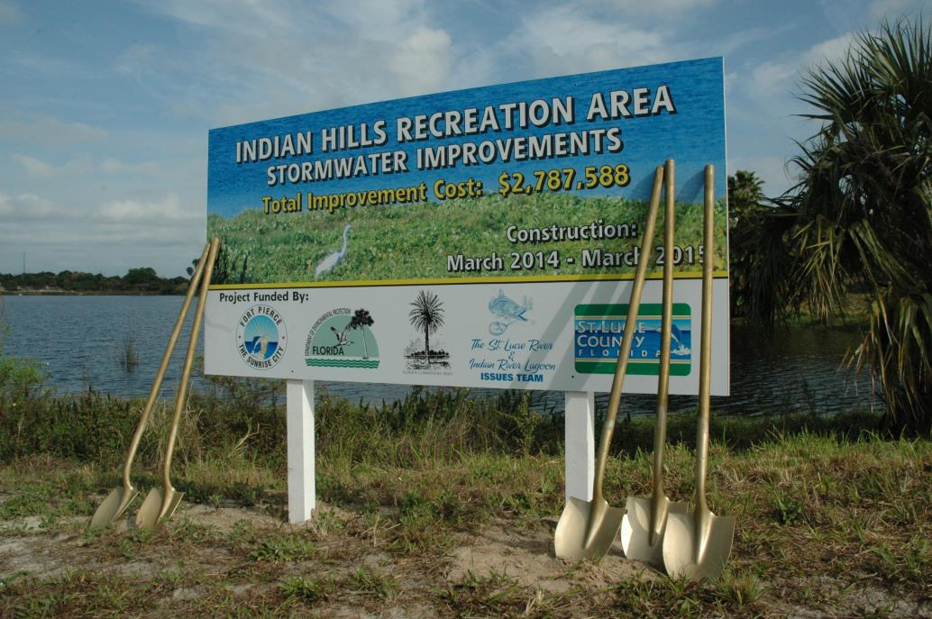 Indian Hills Stormwater Groundbreaking