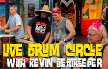 Live Drum Circle with Kevin Beatkeeper
