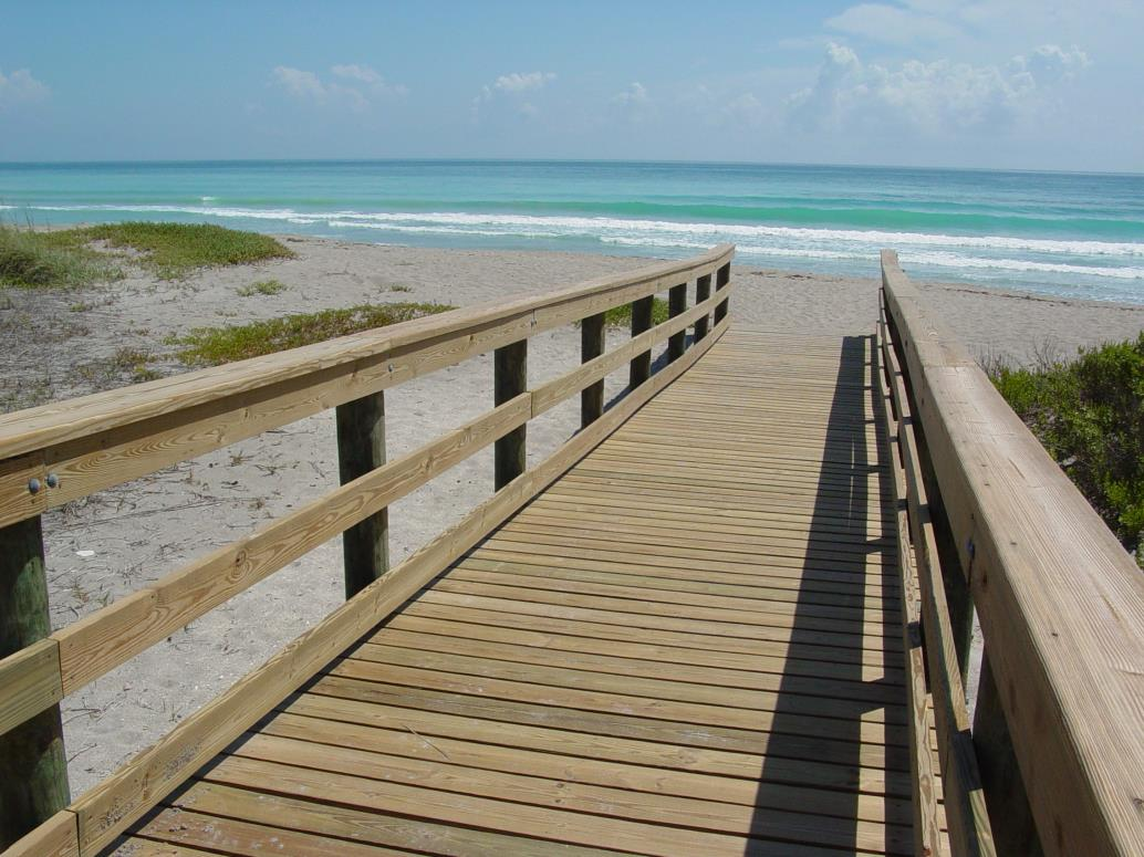 John Brooks Beach Boardwalk